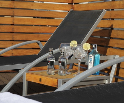 Rooftop terrace Cortezo Hotel