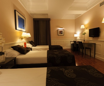 triple room Cortezo Hotel